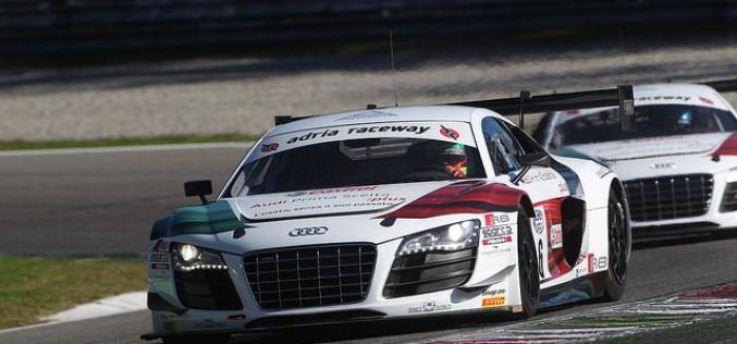 """A Monza i piloti Audi Sport Italia si sono """"scaldati"""" per il gran finale del Campionato Italiano GT"""