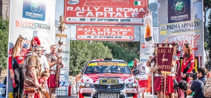Mercoledì 5 novembre la presentazione  del 2° Rally di RomaCapitale.  In programma per l'8 e 9 novembre, finale unica del Trofeo Rally Nazionali