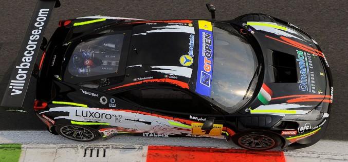 Villorba Corse insegue il titolo GT Open a Barcellona. Montermini e Schirò, terzi in classifica generale, provano la rimonta con la Ferrari 458 del team trevigiano.