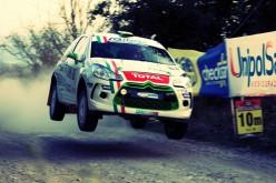 Luca Panzani brilla in Val d'Orcia. Il giovane lucchese, al debutto con la Citroën DS3 R3, ha conquistato la vittoria tra le vetture a due ruote motrici
