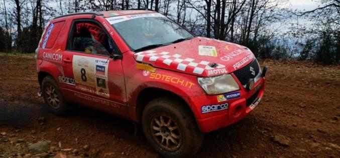 Andrea Luchini e Piero Bosco (Suzuki Grand Vitara T2) vincono il Raid Il Ciocco, Andrea Dalmazzini e Daniele Fiorini, secondi in gara col Suzuki Grand Vitara T1, sono i campioni italiani 2014
