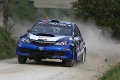"""Alla 7^ Ronde Balcone delle Marche il successo e' per Arminen-Nikkola (Subaru). I quattro passaggi sulla Prova Speciale """"Lago di Cingoli"""" hanno esaltato l'equipaggio finlandese"""