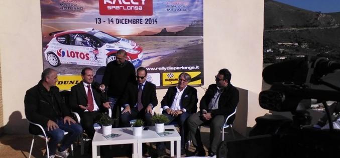 Presentata la 6^ edizione delRonde Rally di Sperlonga, in programma per il 13 e 14 dicembre, e che toccherà i territori di tre comuni diversi