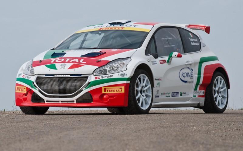 Peugeot 208 T16: al Monza Rally Show con una livrea tricolore per celebrare il titolo italiano