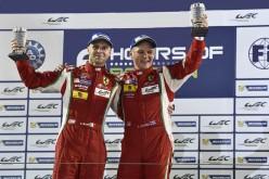"""FIA World Endurance Championship. """"Gimmi"""" Bruni e Toni Vilander sono i nuovi campioni del mondo del FIA World Endurance Championship nella categoria LMGTE-Pro"""