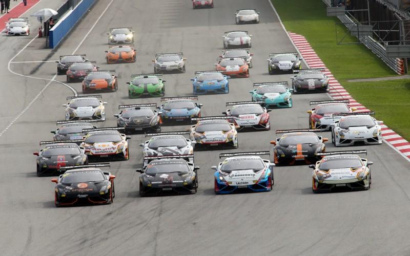 In Malesia Milos Pavlovic e Edoardo Piscopo bissano il titolo europeo laureandosi campioni PRO nella World Final del Lamborghini Blancpain Super Trofeo