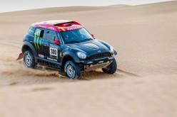 """Otto MINI ALL4 Racing gareggeranno nel Rally Dakar 2015. Joan """"Nani"""" Roma punta a difendere il suo titolo nella Dakar"""
