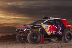"""La Peugeot 2008 DKR comincia la sua trasformazione: abbandona la carrozzeria nerofumo per """"indossare"""" la livrea da corsa"""