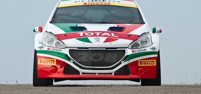 Peugeot 208 T16 e la coppia Paolo Andreucci – Anna Andreussi sono pronti a sfrecciare sul web al MonzaRallyShow 2014