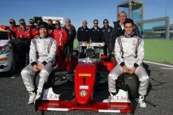 Al Supercorso Federale ACI, nel settore pista, il migliore è stato il riminese Mattia Drudi, proveniente dalla Formula 4