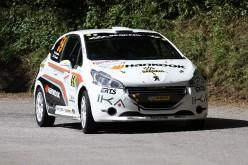 """Max Giannini sfiora la """"Top Ten"""" al Rally della Fettunta"""