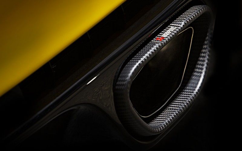 """Da Akrapovič, un certo """"non so che"""" aggiuntivo alla Renault Mégane R.S."""