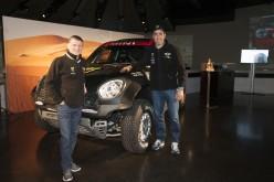 MINI estende il suo impegno alla Dakar fino al 2017