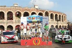 A Verona premiati i protagonisti delle serie tricolore rally 2014. Il 24 e 25 gennaio al Motor Circus di VeronaFiere saranno premiati tutti i Campioni delle massime serie tricolore rally