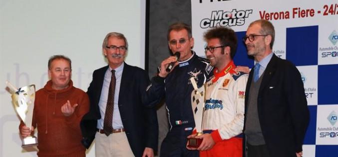 Nella giornata di sabato, a MotorCircus, sono stati festeggiati e premiati i campioni italiani ed i vincitori dei Trofei del CIR Auto Storiche