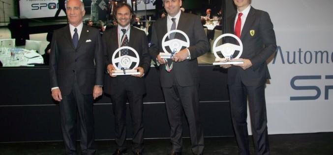 """Max Rendina, premiato con il """"volante d'argento"""" dell'ACI, rilancia la sfida iridata"""