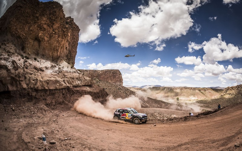 Mini celebra il suo quarto successo consecutivo al Dakar Rally. Nasser AL-Attiyah trionfa con la MINI ALL4 Racing