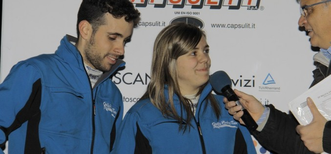 """A Gianandrea Pisani e Jasmine Manfredi il """"9° Trofeo Automobile Club Lucca"""""""