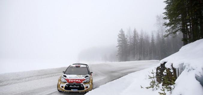 Citroën – Rally di Svezia – Neve e ghiaccio per le DS 3 WRC