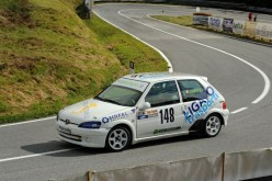 Ligato nel Campionato Italiano Velocità in Montagna con l'Osella CN2
