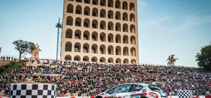 Rally Roma Capitale rimane nel tricolore ma con il percorso su asfalto