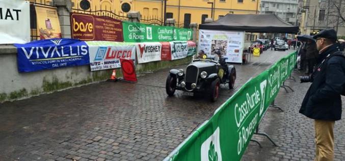Nino Margiotta e Bruno Perno su Volvo si aggiudicano la XII Coppa Città della Pace