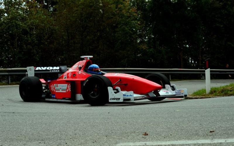 Paride Macario nel CIVM 2015 con la Dallara F3