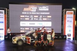 "Max Rendina al via in Svezia con la Mitsubishi Lancer n°33"""