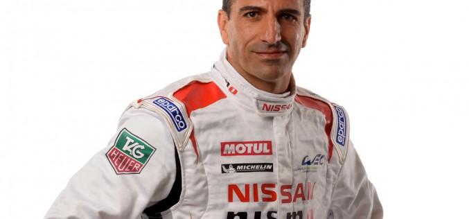 Il campione di Le Mans Marc Gene pronto a correre al volante della Nissan GT-R LM Nismo