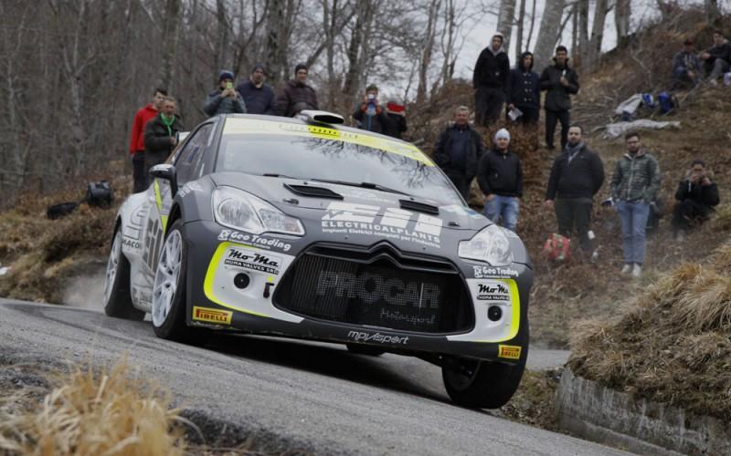 Procar Motorsport secondo posto al Ciocco con la Citroën DS3 R5