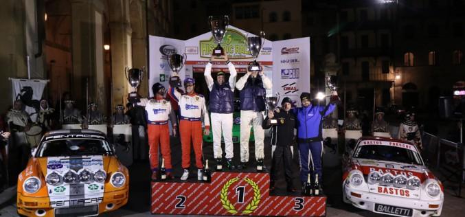 Campionato Italiano Rally Auto Storiche: Alberto Salvini e Davide Tagliaferri vincono l'Historic Rally delle Vallate Aretine