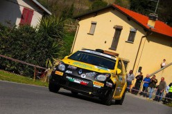 Giorgio Bernardi nel Campionato Italiano Rally Junior