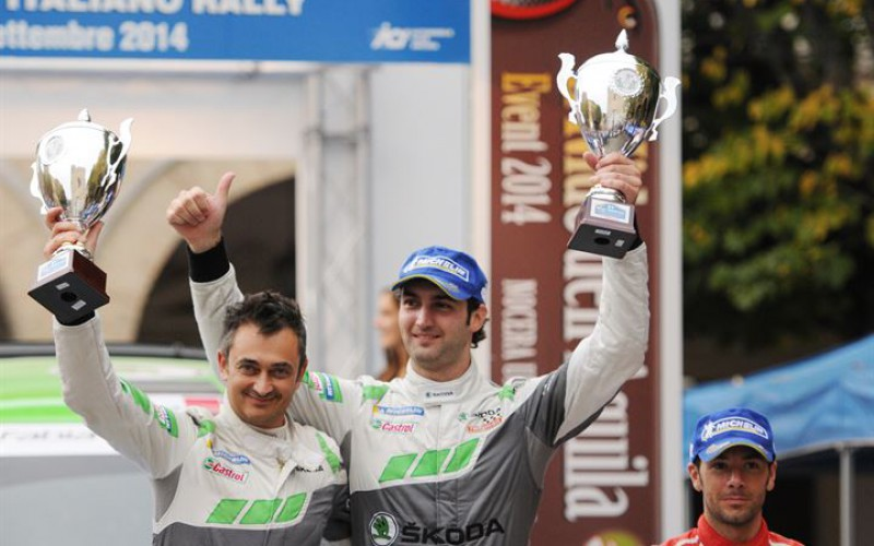 Škoda e Umberto Scandola insieme per la stagione 2015