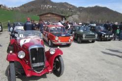 Franco Spagnoli e Giuseppe Parisi su Fiat 508 Sport, Top Car al Castelli Pavesi