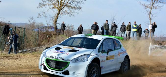 """Power Car Team sfiora il successo alla ronde """"Valtiberina"""" con  Gecchele-Peruzzi e la 208 T16"""