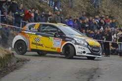 """Esordio """"sopra le righe"""" per Max Giannini, in gara sull'asfalto del primo appuntamento di Campionato Italiano Rally"""