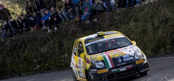 Luca Panzani in allenamento alla Ronde delle Miniere