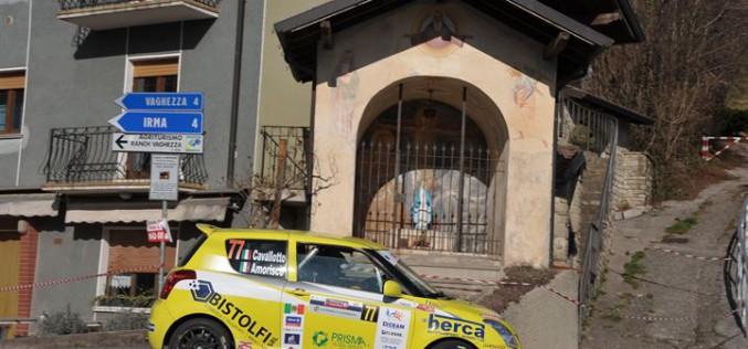 Suzuki Rally Cup: il 1000 Miglia è di Amorisco