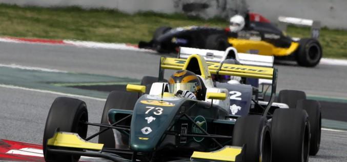 Peccenini combatte in F.Renault 2.0 Nec al Nurburgring