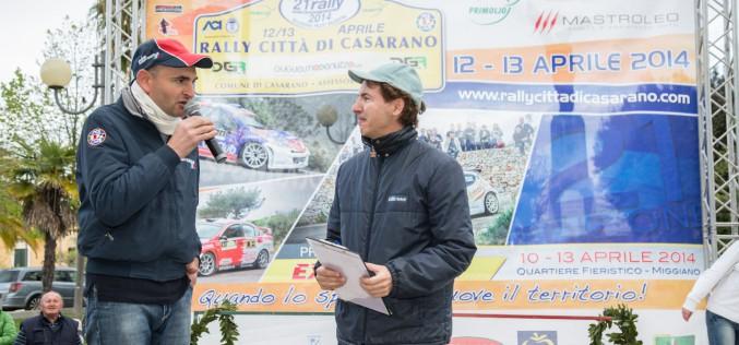 Il 22° Rally Città Di Casarano traino per l'immagine del territorio Salentino.