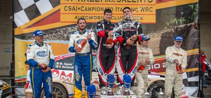 L'automobile Club di Lecce ha svelato i nomi di chi dirigerà le operazioni del 48°Rally Del Salento