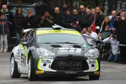 Procar Motorsport con la Citroën Ds3 R5 in Sicilia