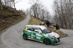Per Sergio Denaro primi punti nel Suzuki Rally Trophy
