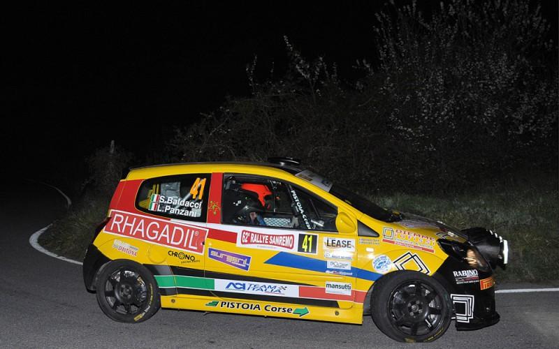 """Vittoria nel Trofeo Renault Twingo e terza piazza """"Junior"""" per Luca Panzani al 62° Rallye Sanremo"""