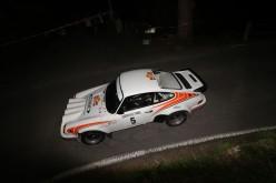 Musti e Granata, Porsche 911 Rsr, vincono il Sanremo Rally Storico