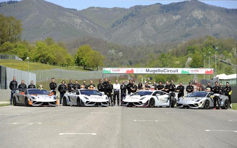 Imperiale Racing schiera quattro Lamborghini Gallardo nel Campionato Italiano Gran Turismo