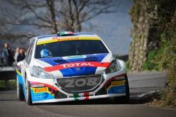 Peugeot Italia al Rally di Sanremo: Uno scatto verso la vittoria