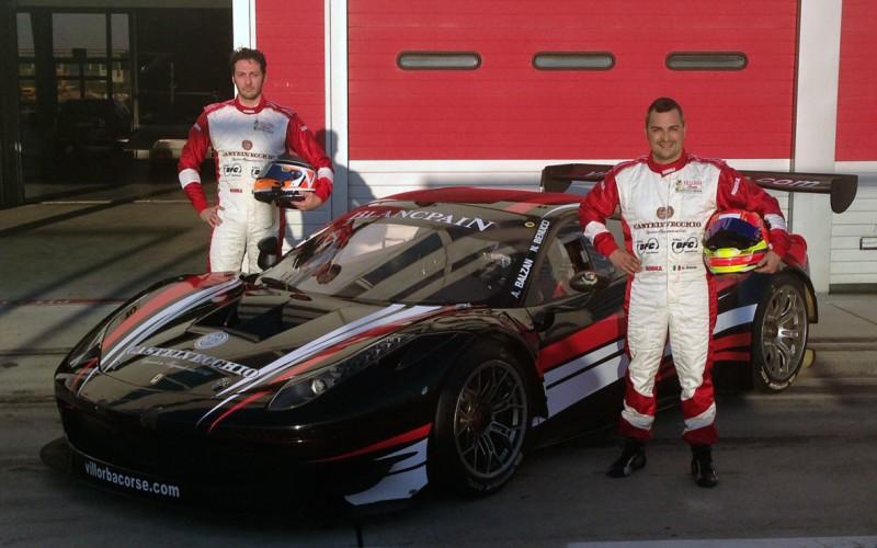 Villorba Corse riparte da Le Castellet in GT Open con Balzan-Benucci