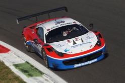 Beretta-Frassineti (Ferrari 458 Italia) la punta di diamante dell'Ombra Racing nel Campionato Italiano Gran Turismo 2015