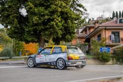 Emanuel Forieri al Rallye Elba su Renault Clio Maxi